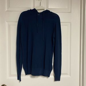 John Smedley Hooded Top Size Large